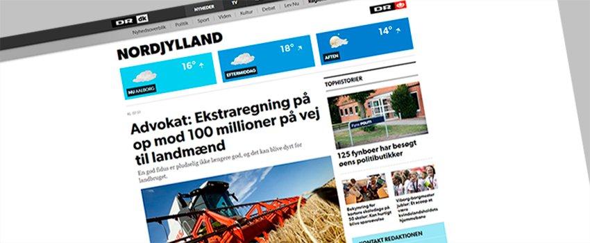 DR: Millionregning på vej til danske landmænd
