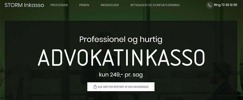 STORM lancerer nem og billig advokatinkasso