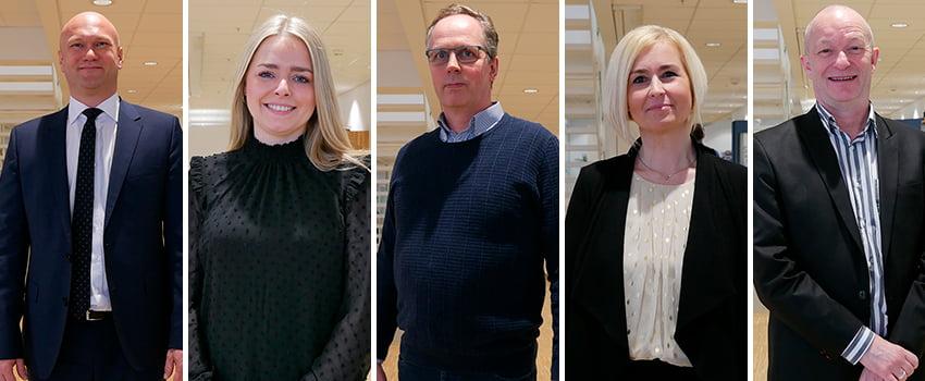Fem nye ansigter hos STORM