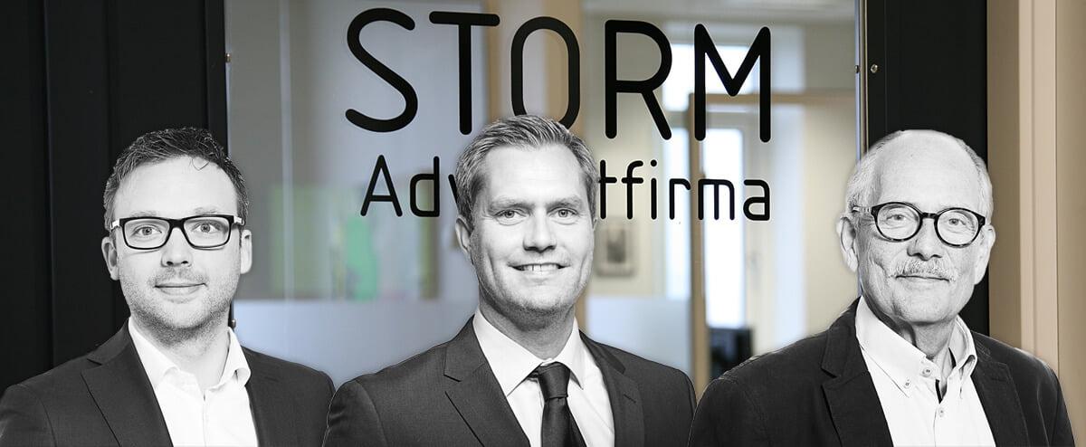 Tre advokater fra STORM Advokatfirma optaget i Gældsstyrelsens advokatpanel