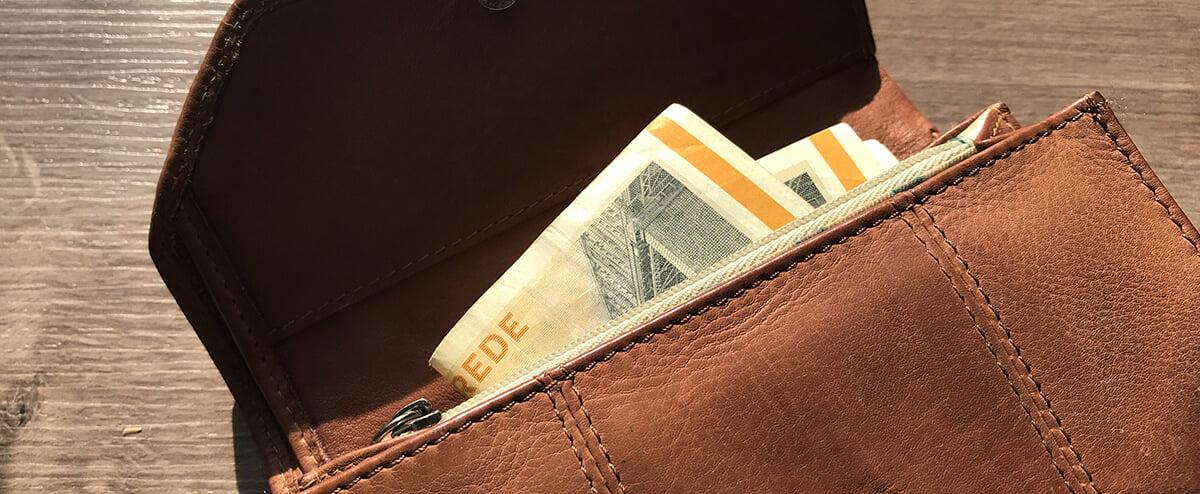 manglende løn på kontoen